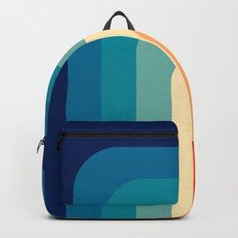 80s Vintage pattern Backpack