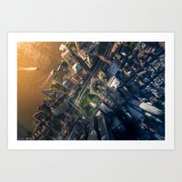 Above the One World Trade Center Art Print