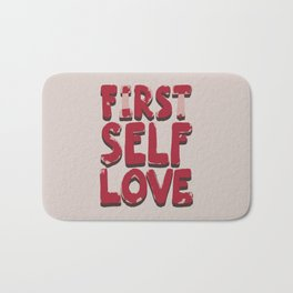 Self love Bath Mat