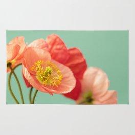 Pastel Poppy #1 Rug