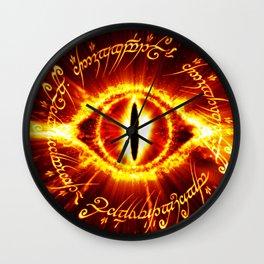 eyes of the ring ruler Wall Clock