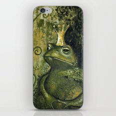 The FROG KING iPhone Skin