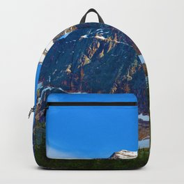 Mt. Edith Cavell in Jasper National Park, Canada Backpack