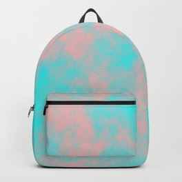 Cotton Candy Clouds - Pink & Blue Backpack