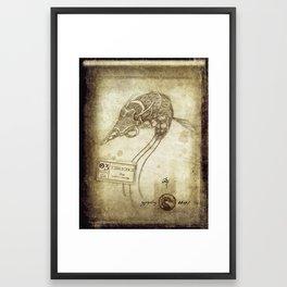 Bestiary 03 Framed Art Print