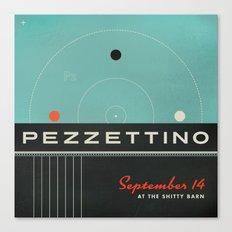 Pezzettino Canvas Print