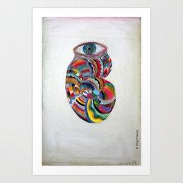 Ojo caracol by Diego Manuel. Art Print