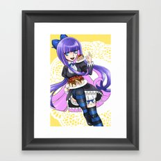 Stocking Framed Art Print