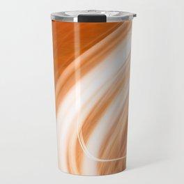 Abstract Light Streaks Travel Mug