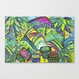 Lush Abundance Canvas Print