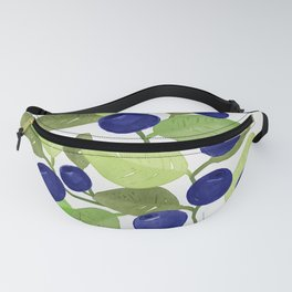 Blueberries Fanny Pack