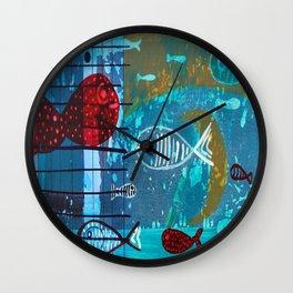 II VII Wall Clock
