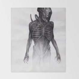 ALIEN - Xenomorph Throw Blanket