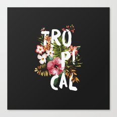 Tropical II Canvas Print