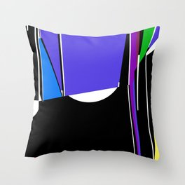 see-thru Throw Pillow