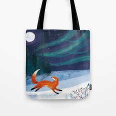 Northern Skies Tote Bag