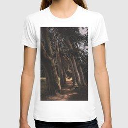 Sea Ranch Tree Tunnel Printable Wall Art | California Beach Nature Ocean Coastal Travel Photography Print T-shirt