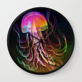 Jellyfish Smell of Summer Wall Clock