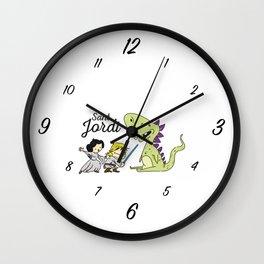 Sant Jordi knight Wall Clock