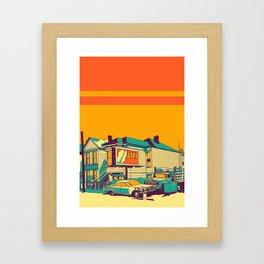 Oakland Framed Art Print