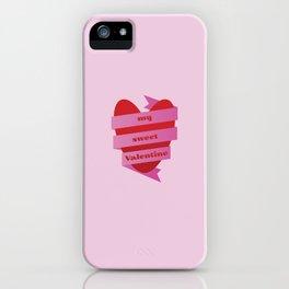 My Sweet Valentine iPhone Case