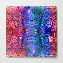 Taino Abstractions - Damian Caracaracoli Metal Print