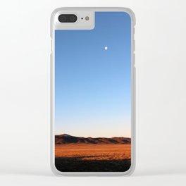 KAZAKHSTAN DESERT Clear iPhone Case