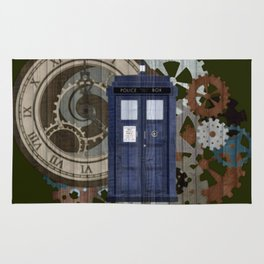 Traveling through the gears of Time Rug