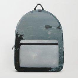 Faded ocean life Backpack