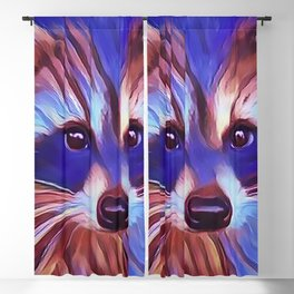 The Raccoon Bandit Blackout Curtain