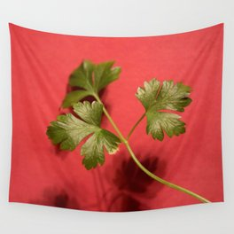 Three Leaves Wall Tapestry