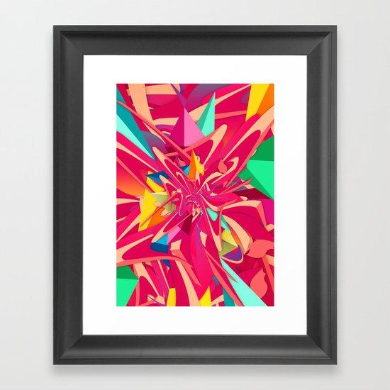 Explosion #1 Framed Art Print