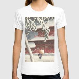 Asian Vintage Woodcut T-shirt