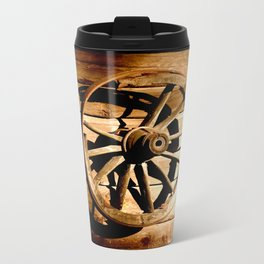 Old Cartwheel #decor #society6 Travel Mug
