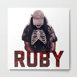 Ruby / Suicideboys / $ucideboy$ Metal Print