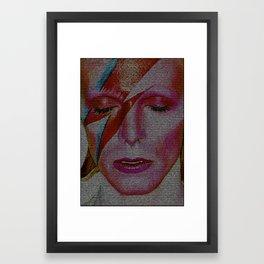 Space Invading Oddity 2016 edit Framed Art Print