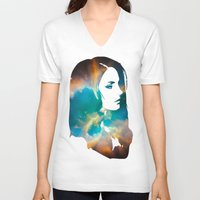 infinity V-neck T-shirts featuring Infinity by Lucas de Souza
