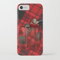 hunter iPhone & iPod Cases featuring Hunter by Piotr Burdan
