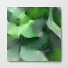 Warm green 2 Metal Print