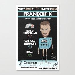 FranÇois K Flier Canvas Print