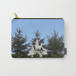Mama and Baby Deer Carry-All Pouch