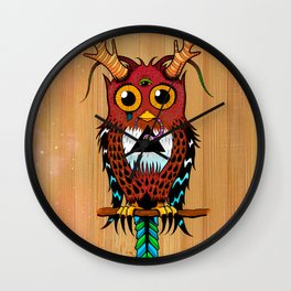 Ever watchful Wall Clock