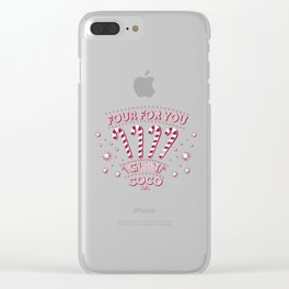 Far for you glen coco Clear iPhone Case