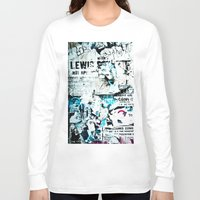movie posters Long Sleeve T-shirts featuring posters by Renee Ansell