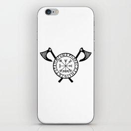 Norse Axe - Vegvisir iPhone Skin