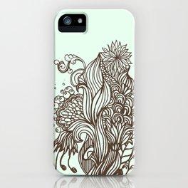 Mint Chocolatey  iPhone Case