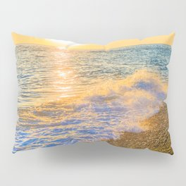 Golden sunset Pillow Sham