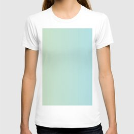 Turquoise Green Blue Gradient T-shirt
