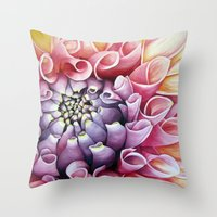 mexican Throw Pillows featuring Mexican Verano by Sophiamonique