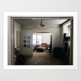 Connors Living Room Tour Art Print